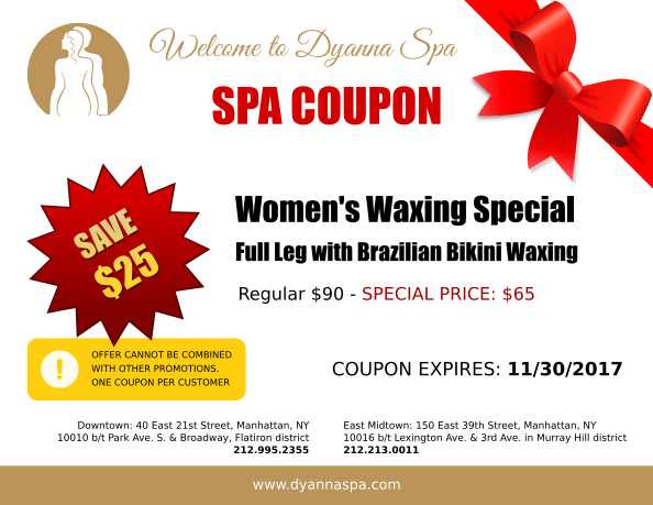 Discount Spa Services Nyc